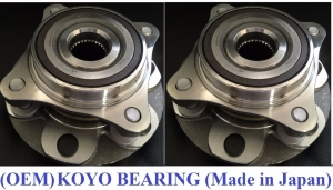 Comparison - Ebay Wheel Bearing Assemblies vs  Jersey Built
