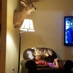 Get comfy kid.