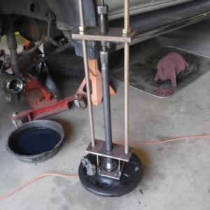 Axle Bearing Press Rig 1
