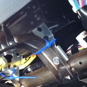 KTP-445U Install above the Glove box