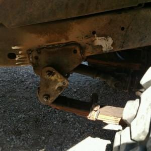 Fj40 rear hanger shackle reversal
