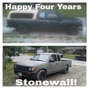 Happy 4 Years Stonewall