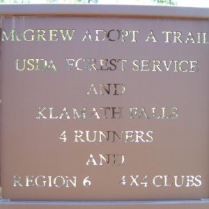 McGrew 4X4 Trail. OR/CA Border. Stock at the time.