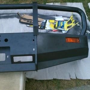 Prepping bumper