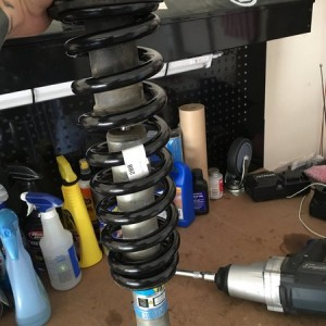Bilstein 5100s with new OME 887s. Now I'm just waiting for the rest of my parts to come in!