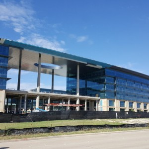 Toyota North America HQ progressing nicely