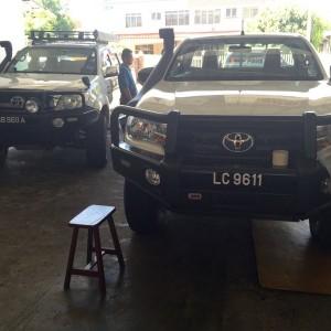 ARB shop in Borneo