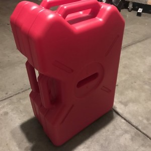 Picked up some 3.5 gal fuelpax containers. Never looked at the rotopax line but these seem pretty good and the buy one get one deal made it more attra