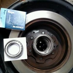Kits come with koyo bearings