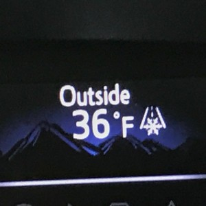 I live in Louisiana so it doesn't get in the 30s often. This made me happy!