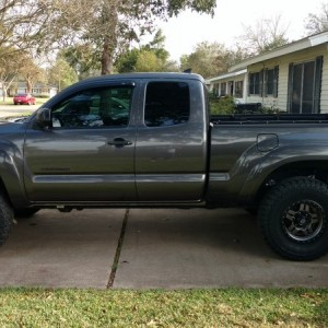 Lifted with new tires