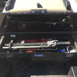 Toolbox packed