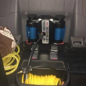 ARB dual compressor mounted