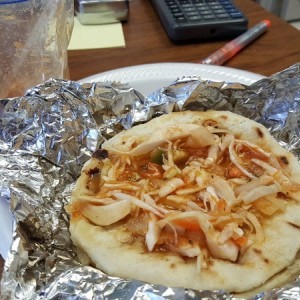 Pupusa for snack :drool: