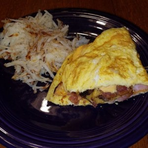 She made me breakfast this morning.... Mmmmm...
