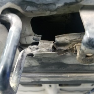 has anybody ever broken their hood latch like this?