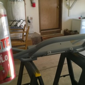 Beer and bumper painting