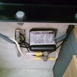 Battery separator.