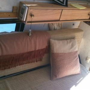 Aft part of sofa