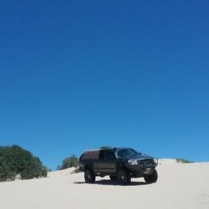 Mescalero dunes eastern New Mexico