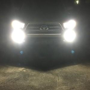 LEDs at night