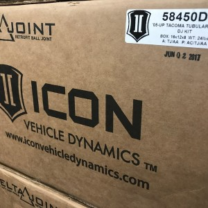 Icon Tacoma Delta Joint Arms are on the shelf!