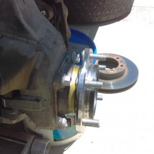 Brand new wheel bearings