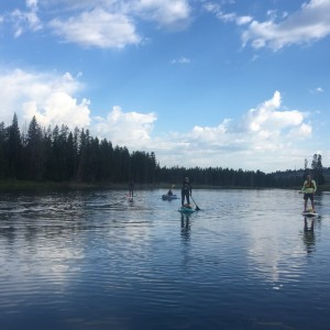 Morning paddle!