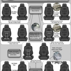 Toyota Tacoma Seat Styles