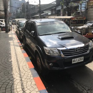 Found this Hilux in Manila.