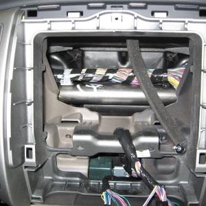 2007 Tacoma Stereo Head Unit Removed