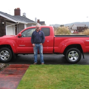 Mikie's new truck!!!!!
