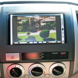 "Clarion 7"" Double Din Head Unit"