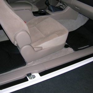 Tacoma Rubber Floor Mats w/ Entry Guards