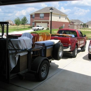 More hauling...