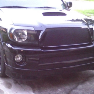 with grill and black out mod pic 2