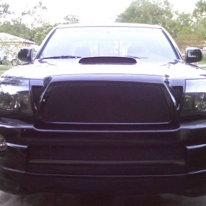 with grill and black out mod pic 3