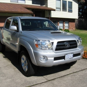 05 Tacoma TRD Sport Silver