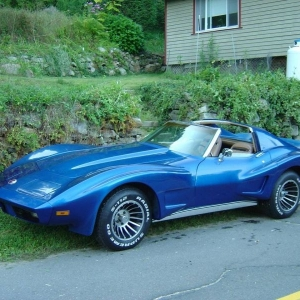 my 73 can -am vette
