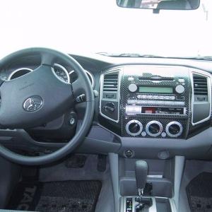 2007 Tacoma SE Yamaha - Dash