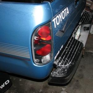 my carbon fiber taillights