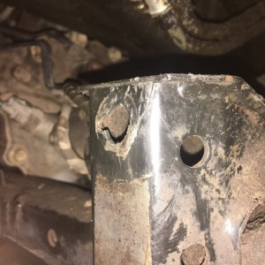 My truck has found some new and interesting places on the frame to crack