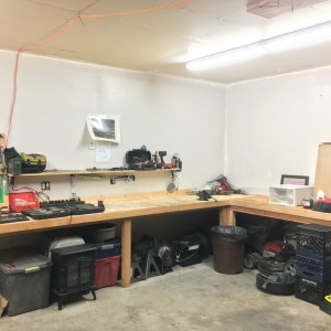 Garage is all back together and clean! Ready for the next project!