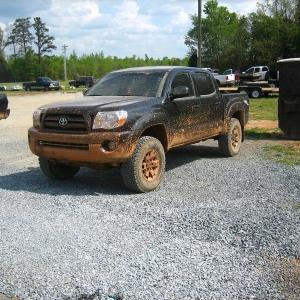 my muddy truck
