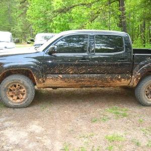 more of my muddy truck
