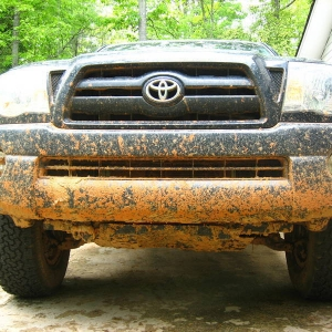 lotta mud under there