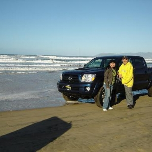 at pismo beach, CA
