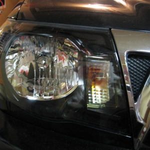 Black Headlight Mod - 007 Style (teaser photo)
