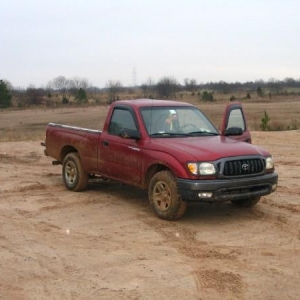 one of my taco's ventures to the mud pits