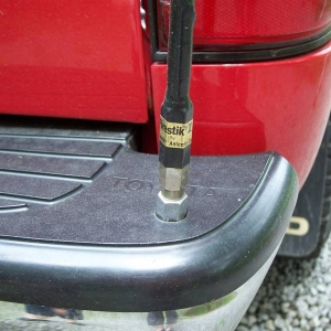 Bumper Mounted CB antenna